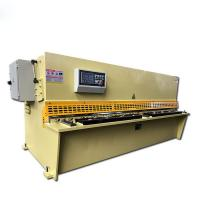 China Automatic Metal Shearing Machine CNC Hydraulic Mechanical QC12Y Series on sale