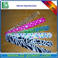 China Hot Sell Silicone Slap Bracelets for Promotional Purpose on sale