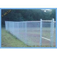 Hot Dipped Galvanized 6x10 Cchain Link Security Fence Privacy Fabric Manufactures
