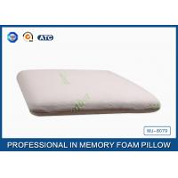 Sound Sleep Neck Pain Traditional Memory Foam Pillow Bamboo Fiber Cover Manufactures