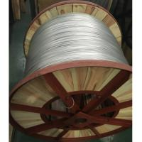 Silver Aluminium Clad Steel Wire For Carrier Cable , Wooden Drum Packed Manufactures