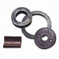customized sheet shape permanent ferrite magnetic magnet ring Manufactures