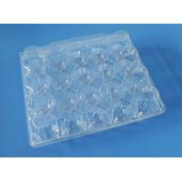 China plastic quail egg tray,24 holes clear plastic quail egg tray,PVC/PET quail egg tray on sale