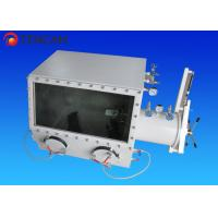 800*650*650mm Vacuum Laboratory Glove Box Stainless Steel with Transition Cabin Manufactures