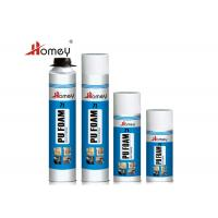 Easy Using Polyurethane Foam Sealant , Spray PU Foam For Prevention And Installation Manufactures