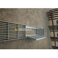 House Drain Hot Dipped Galvanized Steel Grating 24 - 200mm Cross Bar Pitch Manufactures
