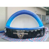Customized Inflatable Bar Tent 0.4 Mm PVC Tarpaulin Two Door For Display Manufactures
