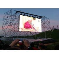China SMD 2525 Kinglight Outdoor Advertising Led Screens Digital Signage For Party / Theater on sale