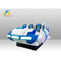 One Stop Customized 9D VR Virtual Reality Cinema 6 Seats For Game Center Manufactures