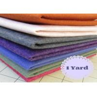 Needle Punched Nonwoven Polyester Felt Roll Heat Resistance With Green for sale