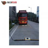 Buy cheap RoHS permanent undercarriage vehicle inspection system vehicle scanning system from wholesalers