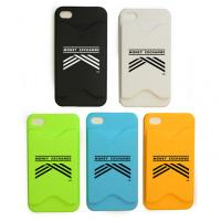 China 3M Silicone Cell Phone Silicone Case Card Holder Phone Wallet for Kids on sale