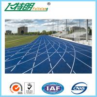Permeable Running Track Flooring 13MM Runway Athletic All Weather Track Surface Manufactures