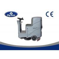 Double Brush Ride On Pressure Washer Floor Scrubber Machine High Efficiency Manufactures