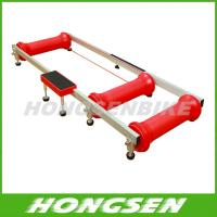 HS-Q01 Colorful and foldable home fitness bicycle roller trainers Manufactures