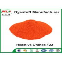 Fabric Reactive Dyes Reactive Orange Wre C I Orange 122 Pad Dyeing Series Manufactures