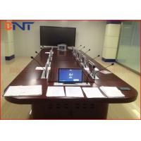 Super Slim LCD Monitor Lift with Microphone,  Vertical LCD Screen Lift  Mechanism
