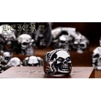Wholesale Fashion Jewelry stainless steel Ring for men fashion Skull Ring Classic E24 Manufactures