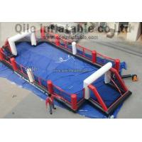 qile inflatable Inflatable Water Soccer Field Manufactures