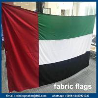 Quality Where to Get Printed Fabric Advertising Flags with Grommets for sale