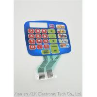 Durable Silicone Rubber Keypad , Pcb Membrane Switch Keyboard SGS Approval