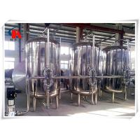 Online Monitor Commercial Water Purification Systems Automatic PLC Control ISO9001 Assured Manufactures