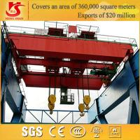 Top running Double Beam customizable china famous brand overhead crane Manufactures