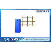Quality 2.00mm Housing Electric Car Park Barriers For Car Parking Management for sale