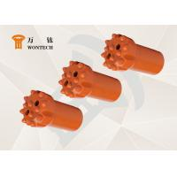 Geological Exploration Taper Button Bits Rock Drilling Tools Abrasion Resistance Manufactures