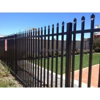1800mm x 2400mm ,2100mm x 2400mm garrison tubular fencing ,steel high security hercules fencing Manufactures