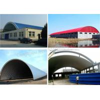Warehouse / Steel Structure K Span Roll Forming Machine , Arch Building Machine Manufactures
