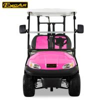 Battery Powered Custom Electric Golf Carts Vehicle Four Wheeler ADC Motor Manufactures