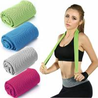 Soft And Qucik - dry Cooling Towel  Microfiber Towel For Sport Gym Manufactures