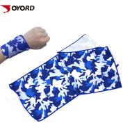 China PVA Microfiber Cooling Towel Comfortable Breathable Multiple Layer Design Wear Resistant on sale