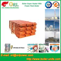 Boiler Steam Superheaters Steel , Separately Fired Superheater Once Through Manufactures
