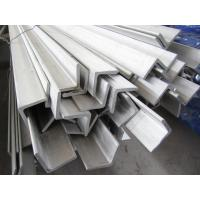 6m Grade 304 Stainless Steel Angle Bar Polished Peeled Grinding Manufactures