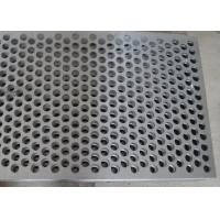 Custom Size Perforated Metal Mesh 40% - 81% Filter 304 /316 Stainless Steel Manufactures