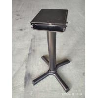 Restaurant Table bases Commercial Furniture Space Saving Cast Iron Folded Table Manufactures