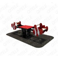Red Playground Spring Animals With PE Board LLDPE Anti Crack Manufactures