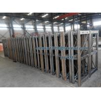 OEM GJJ Building Elevator Mast Sections with Racks and Bolts Manufactures
