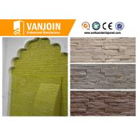 Exterior Soft Stone Tiles , Fireproof Outside Wall Brick Tile Anti - crack Manufactures
