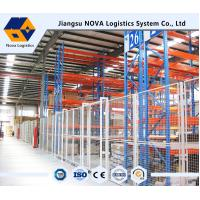 Buy cheap Selective Push Back Pallet Racking from wholesalers