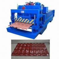Tile Forming Machine, Forming Sheet Used as Roof Panel in Steel Construction, 1-year Warranty Manufactures