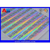 Buy cheap 3D Holographic VOID Sticker 20mm Square Custom Hologram Labels Printing from wholesalers