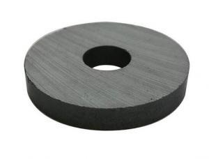 China 5.1g/Cm3 Rare Earth  Speaker ferrite magnet ring on sale