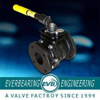 China A126B Manual ISO Cast Iron Ball Valve With 125LB Pressure on sale