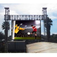 China Light Weight Portable Outdoor Led Advertising Display Video Wall For Stage Show on sale