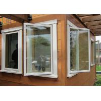 Energy Saving Thermal Break Aluminum Casement Windows with Double Glazing Glass Manufactures