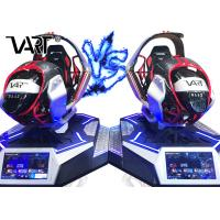 4kw Power Attractive Electric Car VR Racing Game Simulator Support Multi Player Manufactures