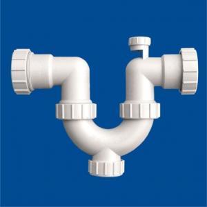 PVC-U Drainage Siphonic U Trap With Cleanout